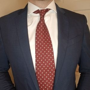Red Brooks Brothers Tie